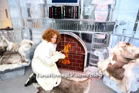 Carrot Top at Minus5 ICe Bar