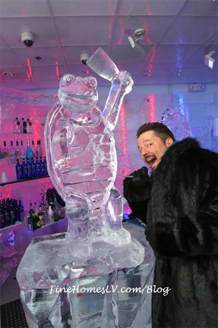 Winston Ice Sculpture