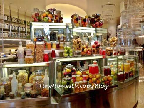 Bacchanal Buffet Lunch Display