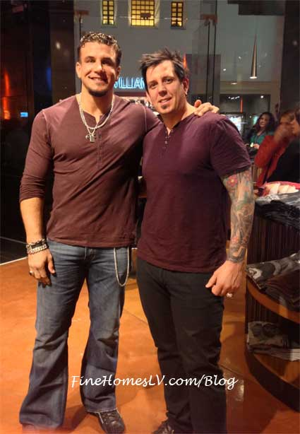 Frank Mir and Sean Cowdell.