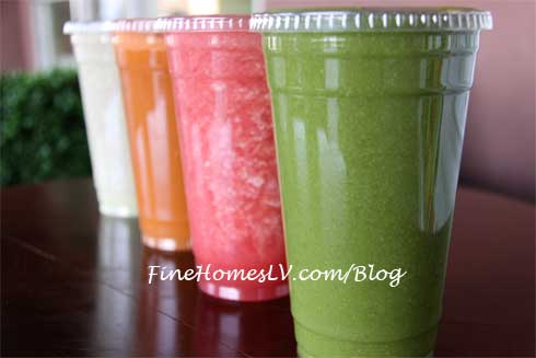 Greens and Proteins Juice Bar Drinks