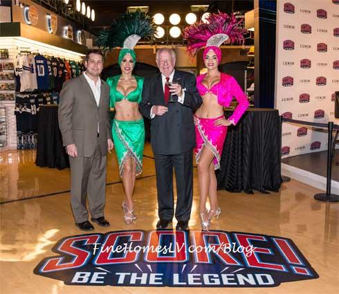 score las vegas interactive sports exhibit grand opening at luxor