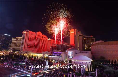 Caesars Palace July 4 2015 Fireworks
