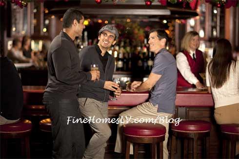 Men at RAO's Bar