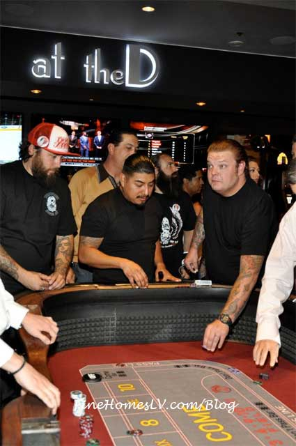 Corey Harrison Playing Craps