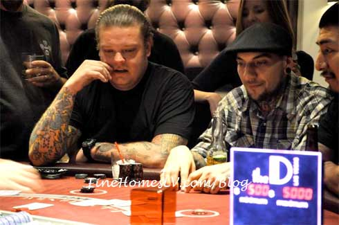 Corey Harrison Playing Blackjack