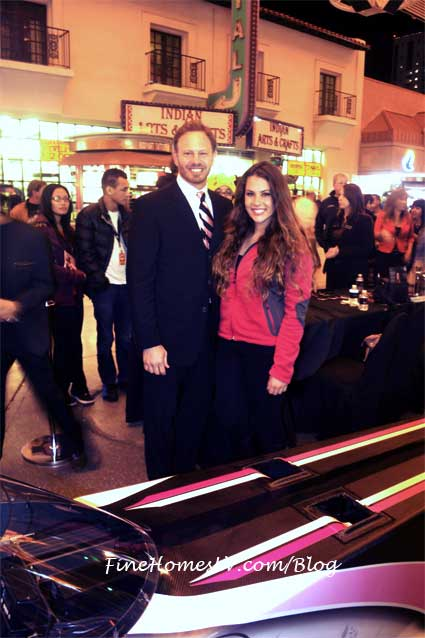 Ian Ziering and Ashley Sanford