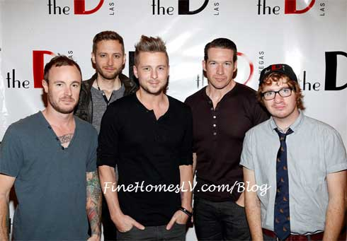OneRepublic On The Red Carpet