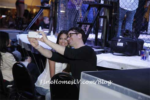 JC Chasez Takes Selfie