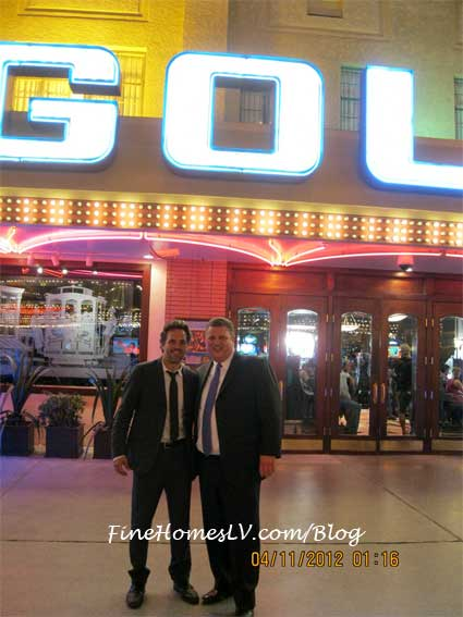 Mark Ruffalo at Golden Gate Casino