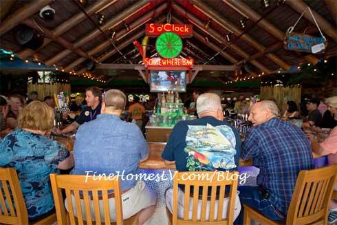 5 O'Clock Somewhere Bar at Margaritaville Casino