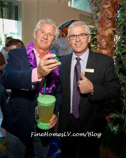 John Cohlan and Mark Kelly at Margaritaville Casino