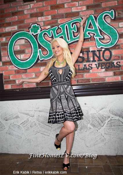 Holly Madison at O'Sheas