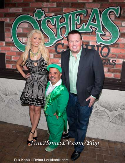 Holly Madison, Leprechaun and Nathan Burton