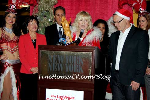 Las Vegas Great Santa Run Linda Smith