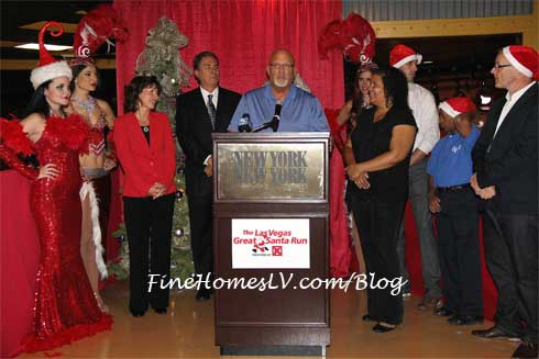Las Vegas Great Santa Run Speech