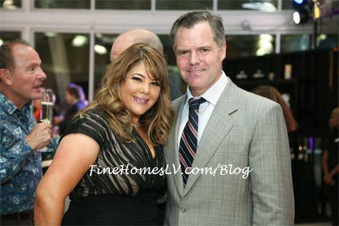 Jesika Towbin and Jim Murren