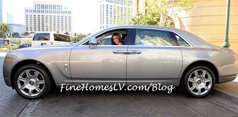 Melissa Gorga Driving A Rolls Royce Ghost