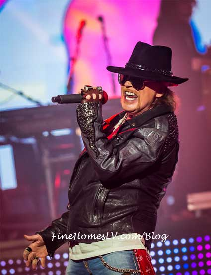 Axl Rose at The Joint
