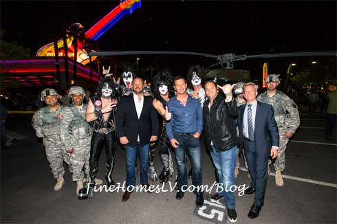 KISS At Hard Rock and AEG Executives