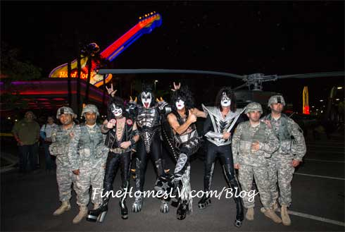 KISS Band And Military