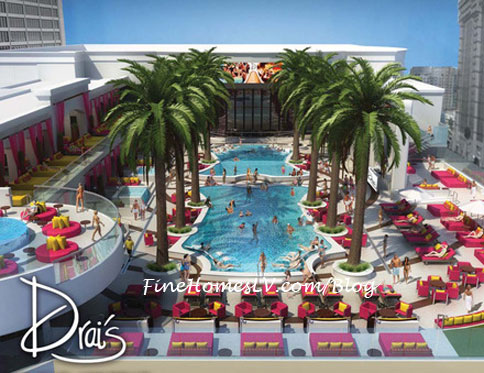 Drais Beach Club Palm Tree