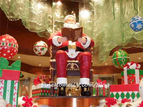 Chocolate Santa Claus at Jean Philippe