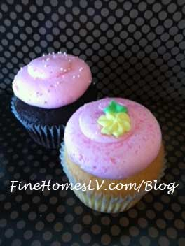 Tickle Me Pink Cupcakes