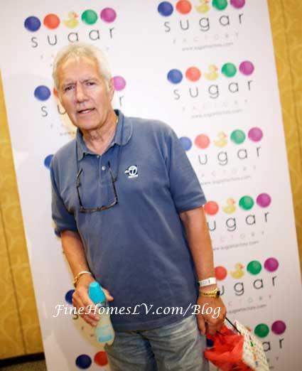Alex Trebek at Sugar Factory