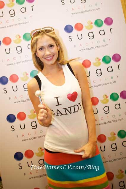 Ashley Jones at Sugar Factory