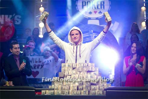 2011 World Series of Poker Winner Pius Heinz