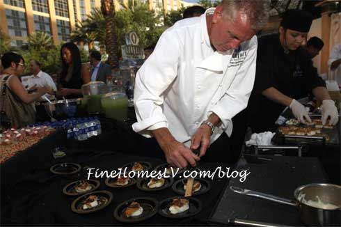 Chef Tom Moloney at Aquaknox