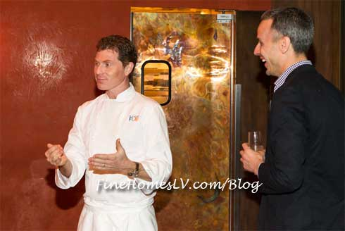Bobby Flay and Adam Rapoport