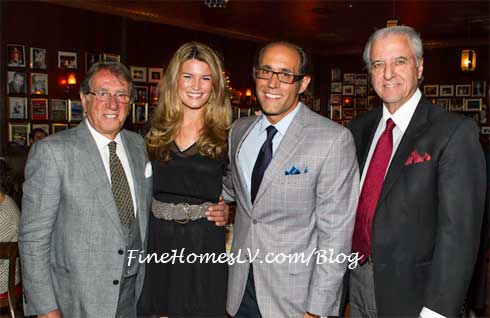 Frank Pellegrino, Mary Nolan, Frank Pellegrino Jr. and Ron Straci