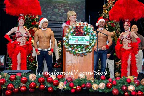 Linda Smith and Chippendales
