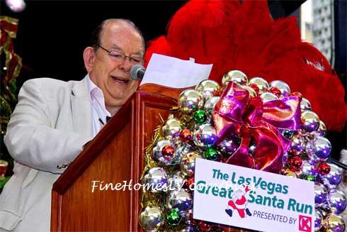 Robin Leach at Great Santa Run press Conference