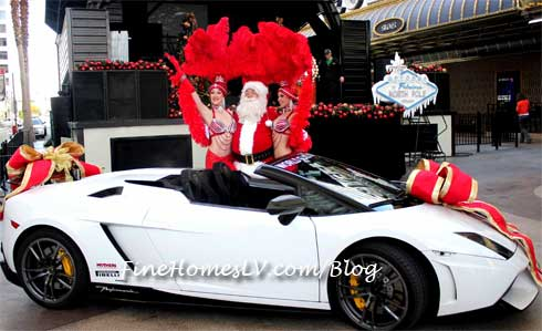 Santa, Showgirls and Lamborghini