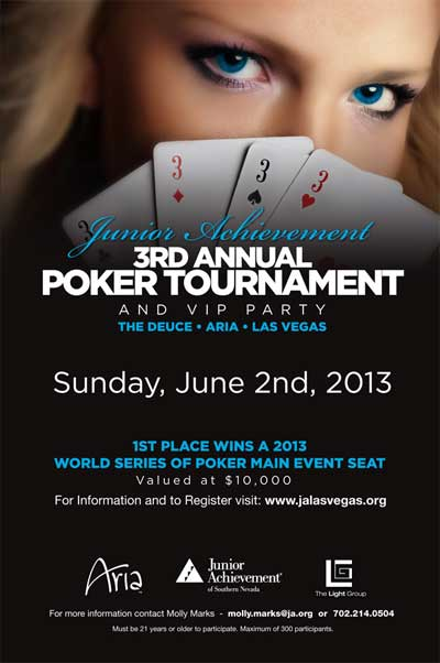 Junior Achievement Poker Tournament