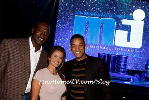 Michael Jordan, Prieto and Will Smith