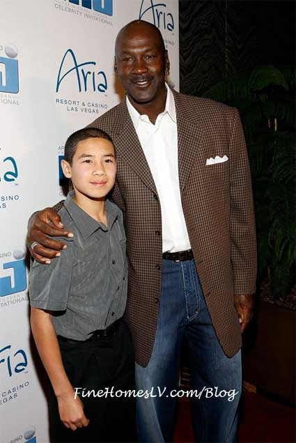 Michael Jordan and Joe Domingues