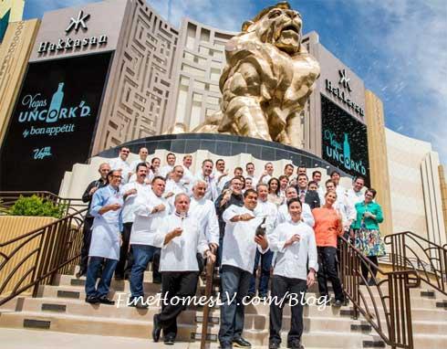 Vegas Uncorkd Saber Chefs