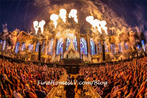 Electric Daisy Carnival Las Vegas Big Organ