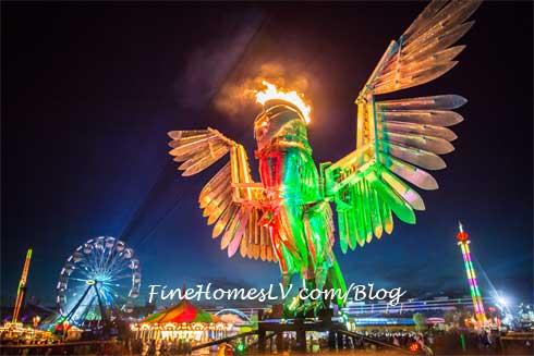 Electric Daisy Carnival Big Owl
