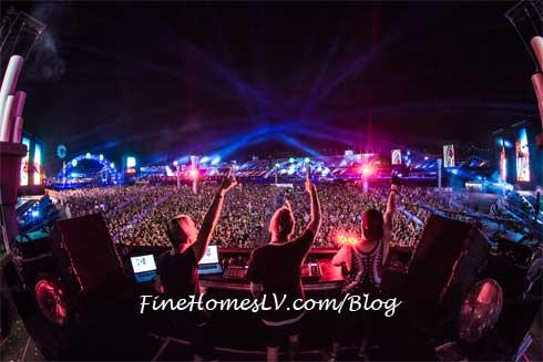 Electric Daisy Carnival Las Vegas DJ Stage