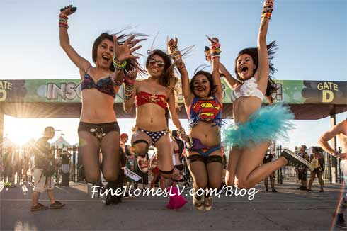 Electric Daisy Carnival Fans