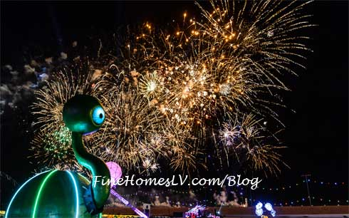 Electric Daisy Carnival Las Vegas Lighted Character