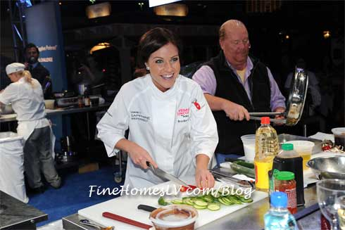 Brooke Worley At Chase Sapphire Preferred Grill Challenge