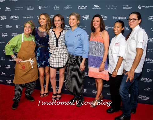 Celebrity Female Chefs At The Grand Tasting