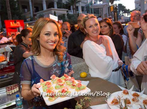 Giada De Laurentiis At Vegas Uncorkd The Grand Tasting