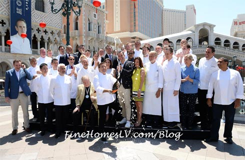 Vegas Uncorkd Saber Off At The Venetian